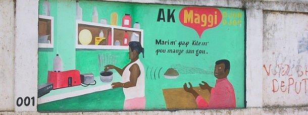 Les bouillons Maggi s'exportent jusqu'en Haïti © le Korrigan https://www.flickr.com/photos/le_korrigan/1103636832/