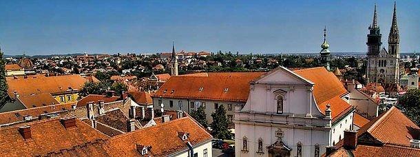 zagreb-croatie villes