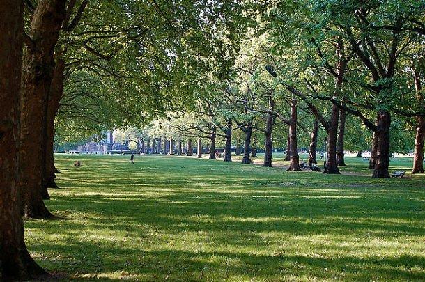 Green Park à Londres