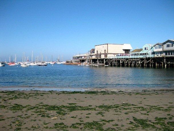 Le Fisherman's Wharf de Monterey, l'une des plus belles villes de Californie.
