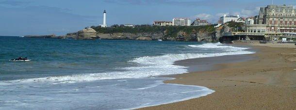 Biarritz, le vent du large