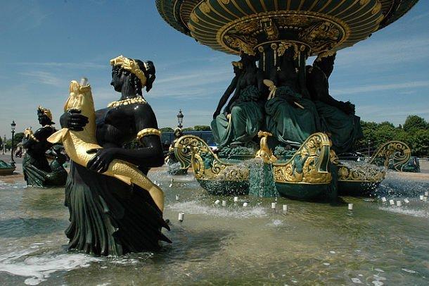 """"""" Les plus belles Fontaines de France et du Monde """" Fontaine-concorde"""