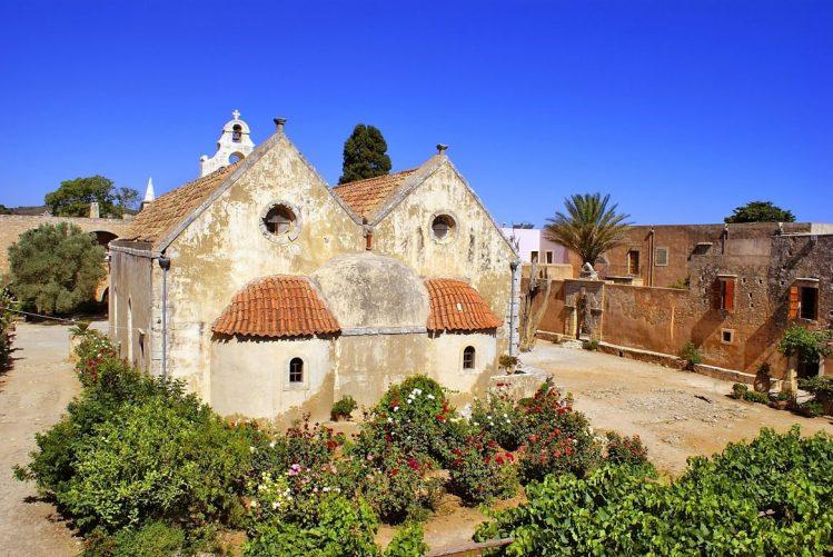 Moni Arkadi, Crète