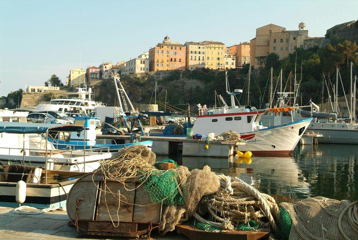 Port et citadelle de Terra Nova, Bastia, Corse