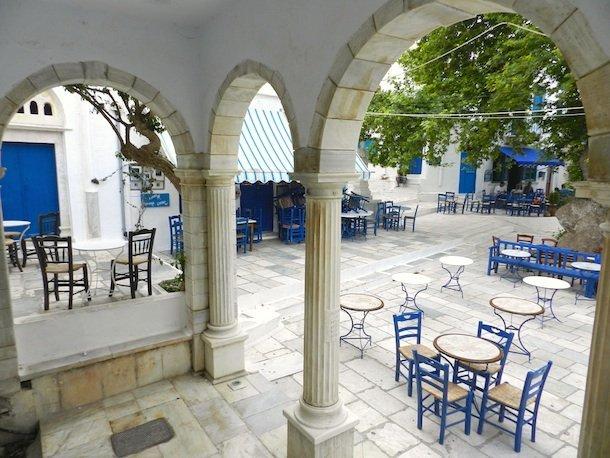 Café de Pyrgos, Tinos, Cyclades