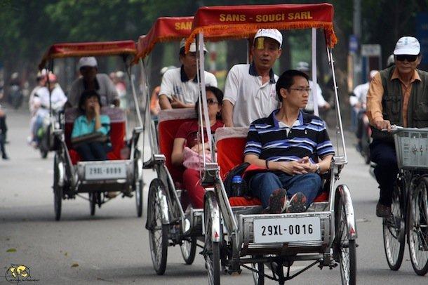 vietnam-HANOI-CYCLOs