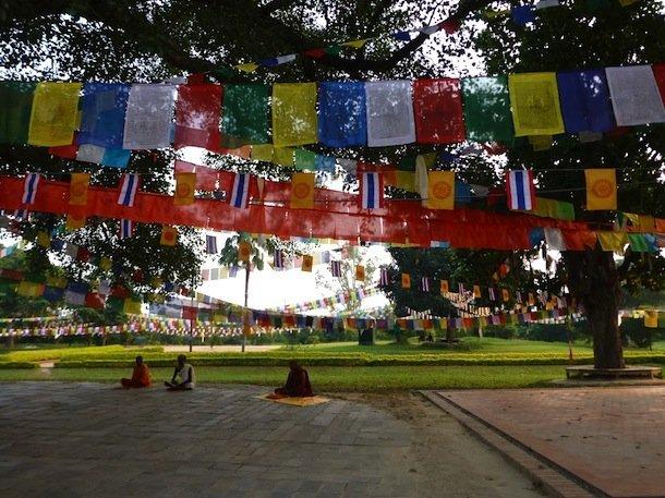 Lumbini, lieu de naisance du Bouddha
