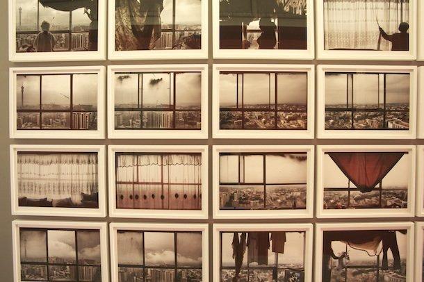L'immeuble Ponte City, immortalisé par M. Subotzky et P. Waterhouse © Laure Didry