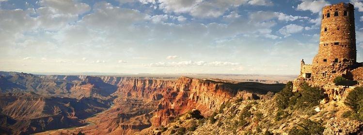 Carte des Parcs nationaux de l'Ouest américain