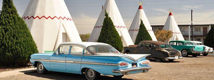 Wigwam Motel sur la route 66, Holbrook, Arizona, États-Unis ©Alberto Loyo/Shutterstock