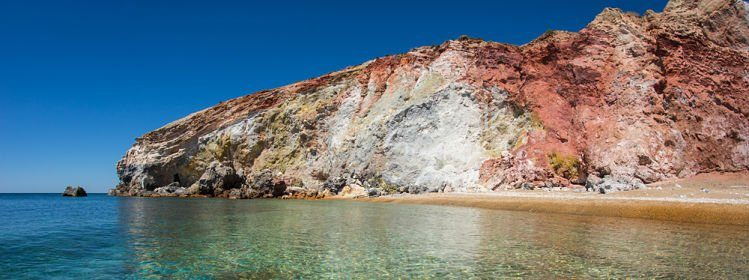 Plage de Paleochori, Milos Cyclades ©siete_vidas/Shutterstock.com