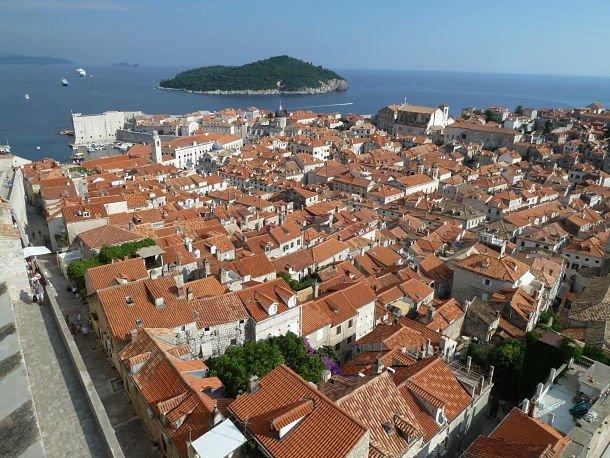 Panorama sur Dubrovnik ©Jean Tiffon
