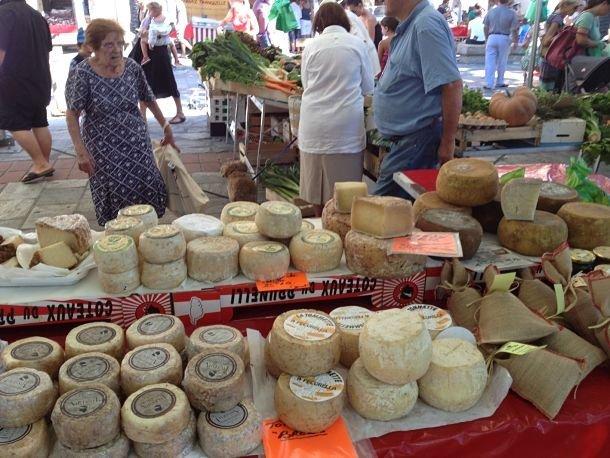 Spécialité corse: le fromage