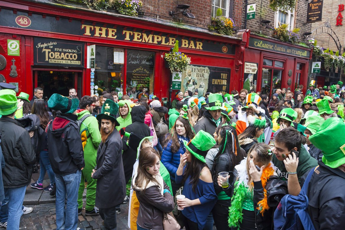 The Temple Bar, Dublin, Irlande