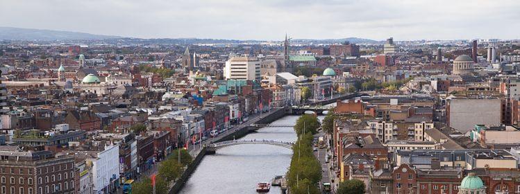 Vue sur Dublin, Irlande ©David Soanes/Shutterstock.com