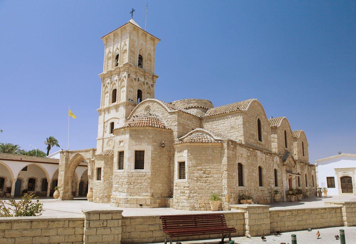 L'église Saint-Lazare, Lanarca, Chypre