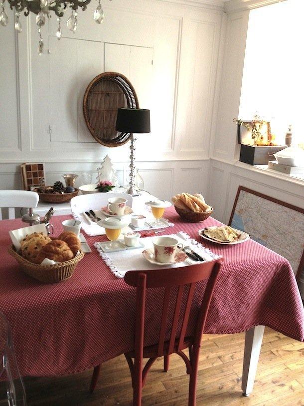 Le petit-déjeuner… royal pour bien commencer la journée © Marine Chouteau