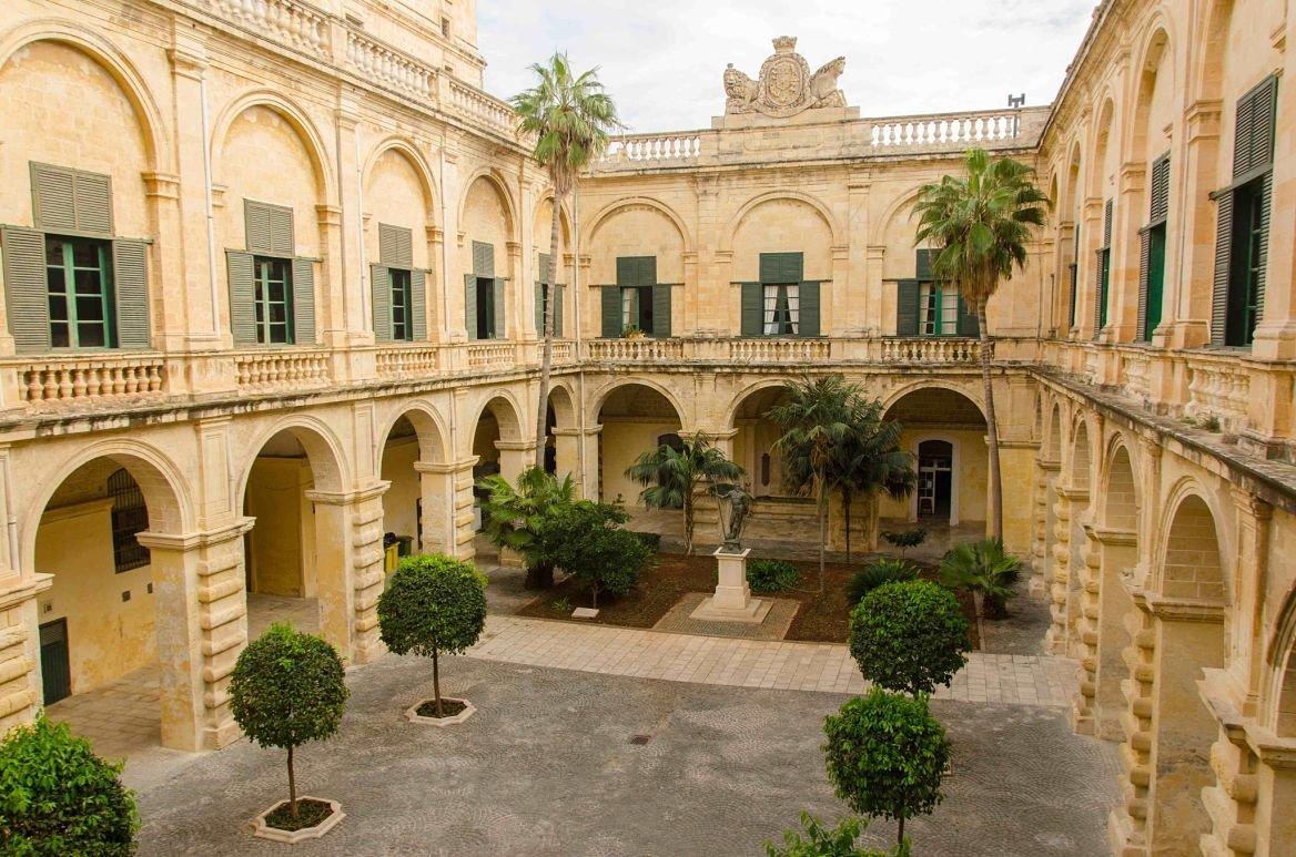 Grand master's palace, la Valette, Malte