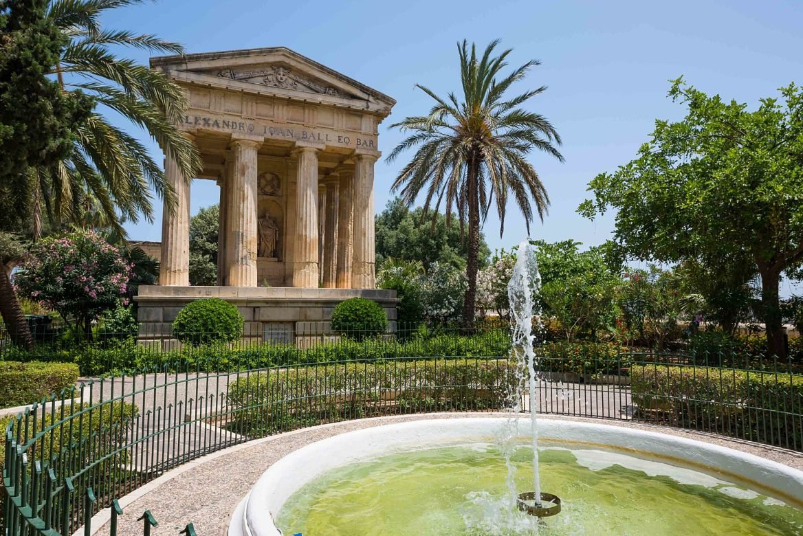 Barraca Gardens, la Valette, Malte