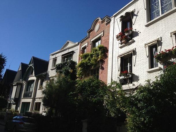Les maisons de la Villa Léandre.