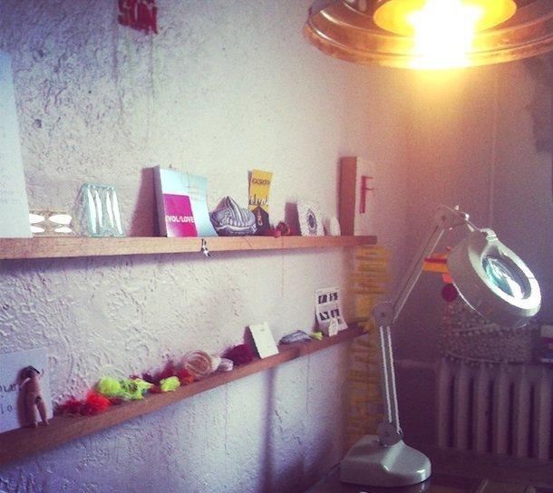 L'atelier de Patsy © Elise Rubin