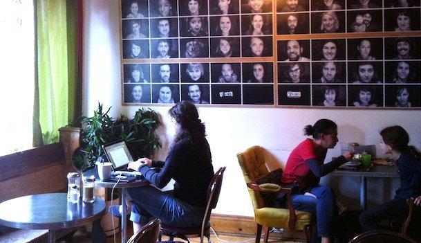 Le café Touski, un vrai concept. © Elise Rubin