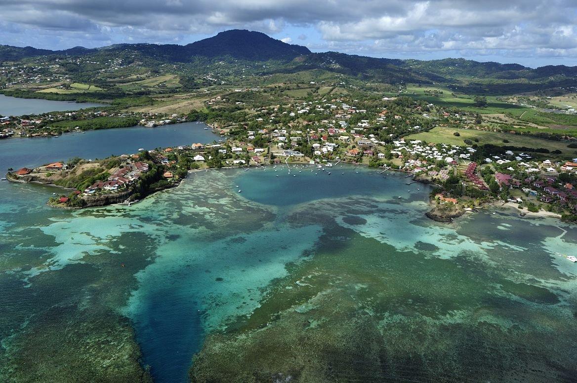 Vue sur la Martinique, Le François, Martinique