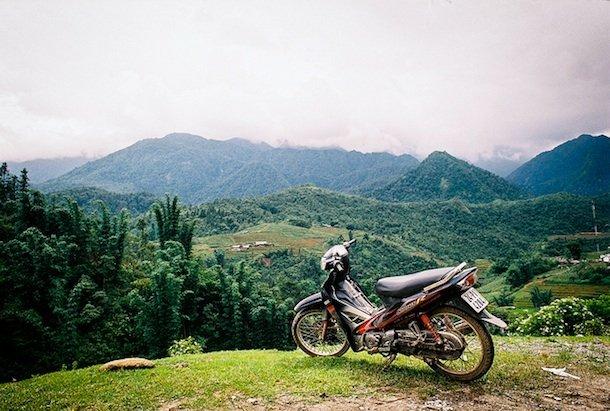 Dans les montagnes, près de Sa Pa, ou dans les hauts plateaux, adonnez-vous à la rando à moto. photo credit: Nathan O'Nions via photopin cc