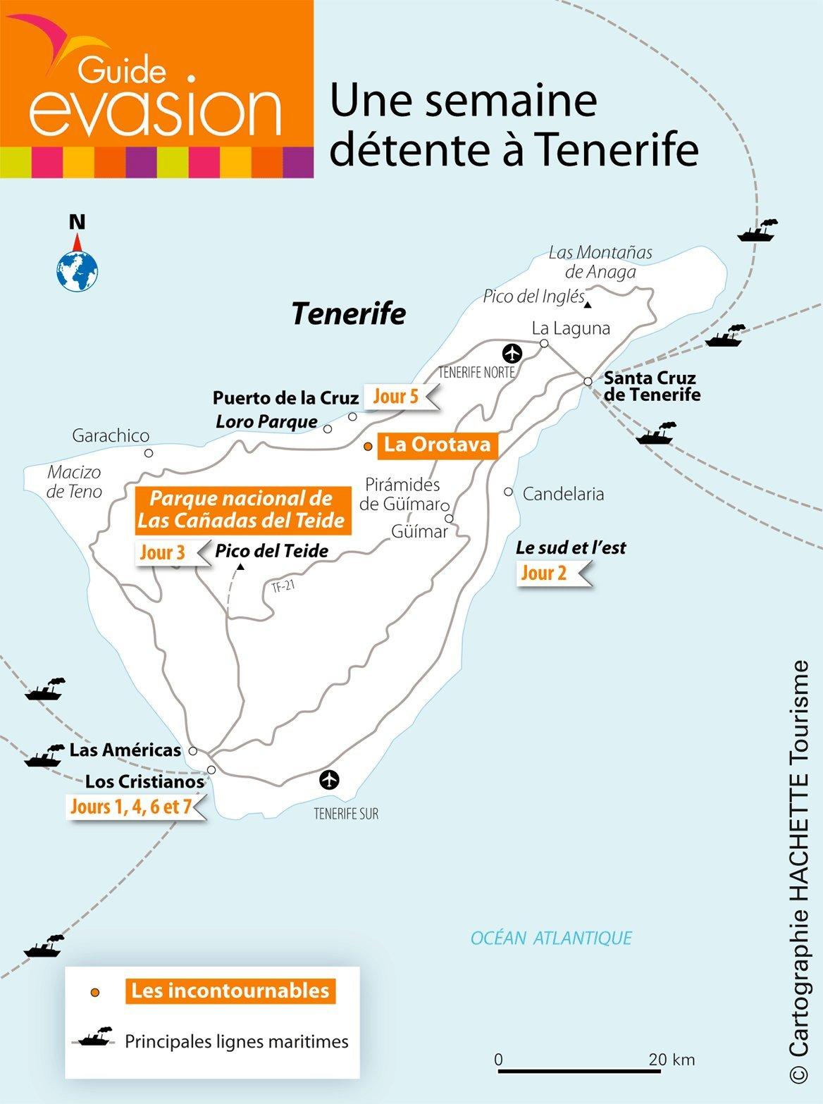 Circuit 1: Une semaine détente à Tenerife