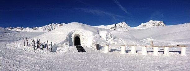 Mon iglou dans les Alpes