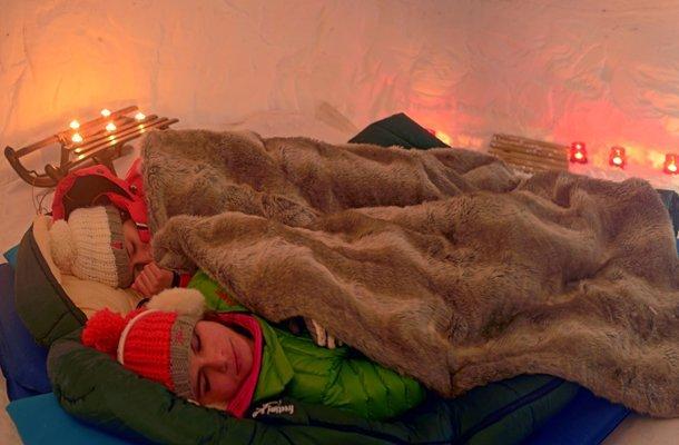 Nuit en Igloo, La Plagne alpes