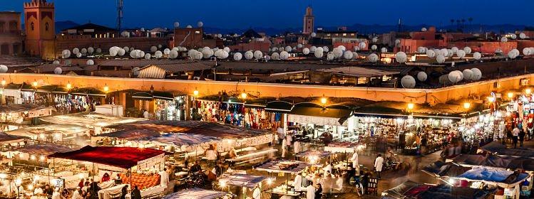 Carte de Marrakech