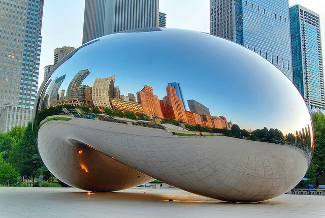 cloud gate chicago, où partir aux États-Unis
