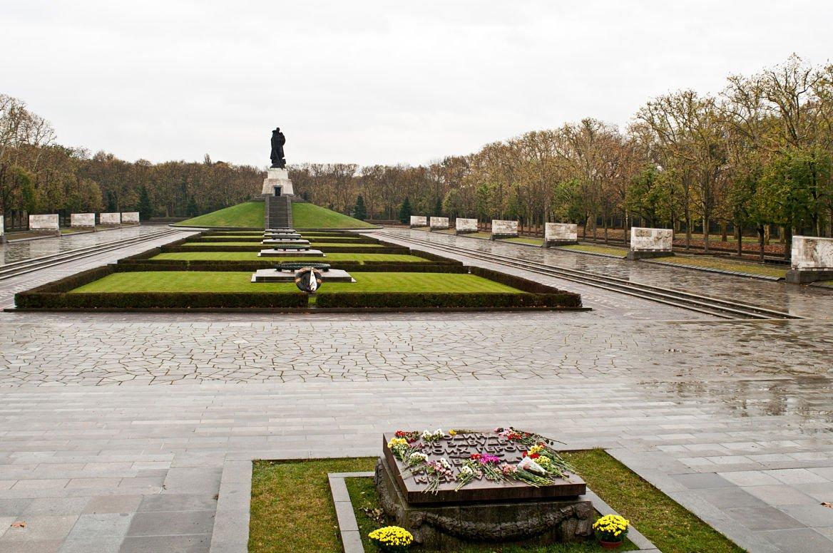 Le Treptower Park, Berlin, Allemagne