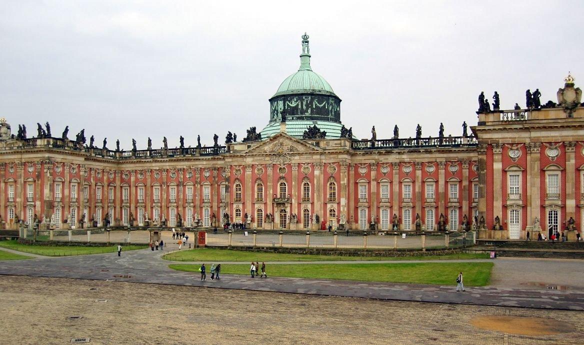 Palais de Sans-souci, Berlin, Allemagne