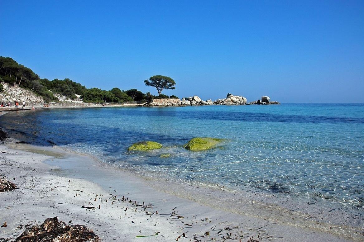 La plage de Polombaggia, Corse