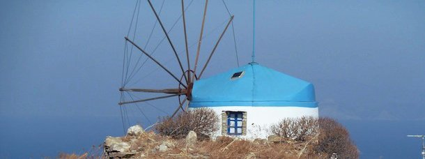 Moulin, Cyclades ©Jean Tiffon