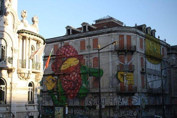 lisbonne movida fete Os Gemeos Lisboa
