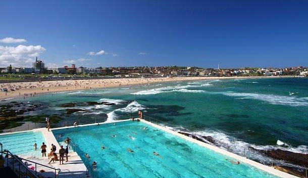 Bondi beach, Sydney, l'une des plus belles plages d'Australie