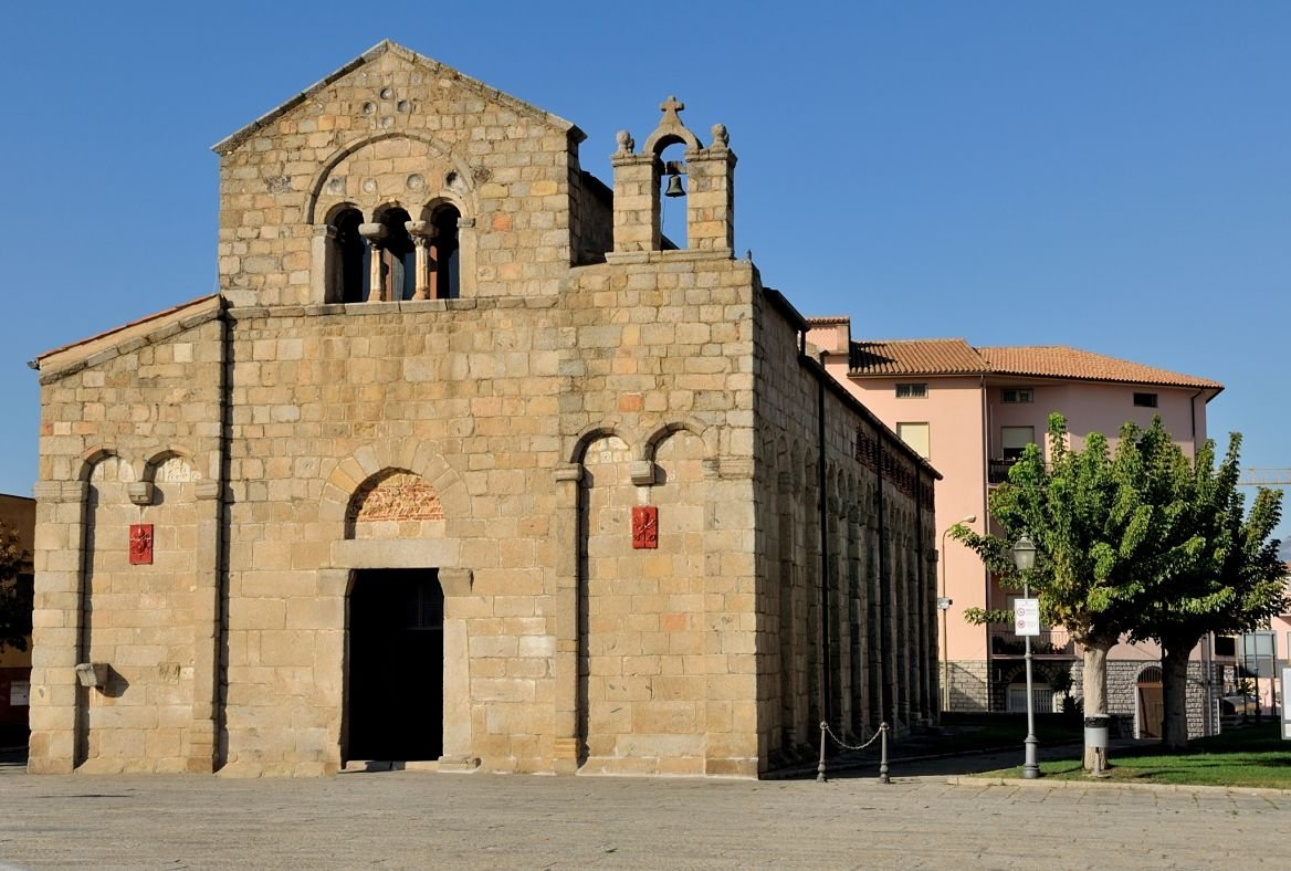 Cathédrale San Simplicio, Olbia, Sardaigne