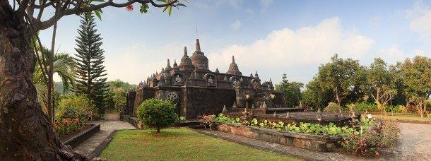 Le templs de Brahma Vihara Aram © Honza Hruby/Shutterstock