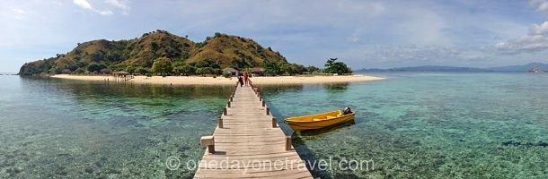 Kanawa island au large de Flores en Indonésie