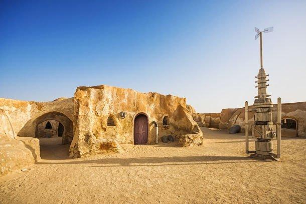 Décors de Star Wars en Tunisie