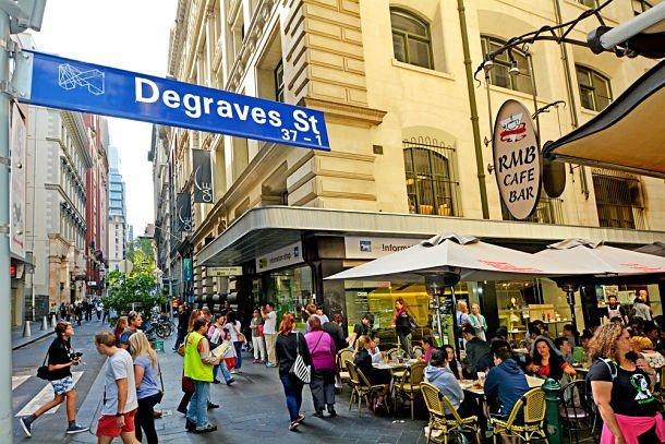 Degraves Lanes in Melbourne - ©ChameleonsEye - Shutterstock