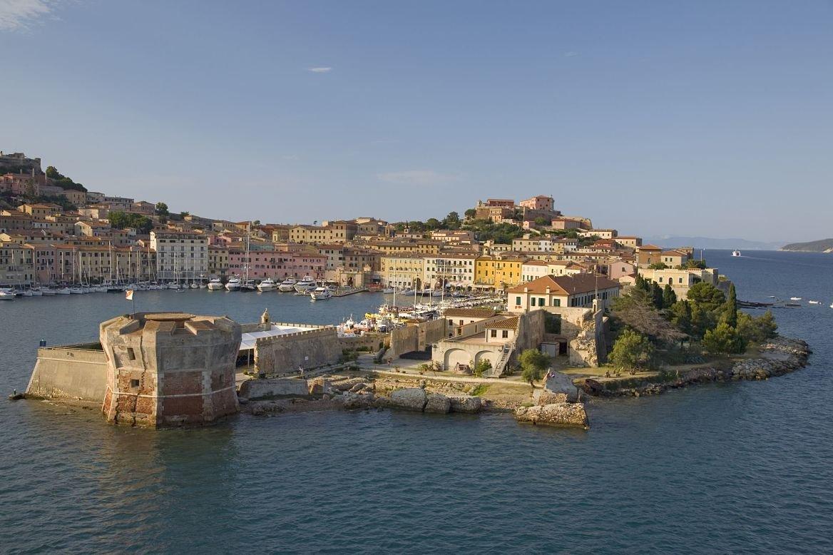 Portoferraio sur l'île d'Elbe en Toscane, Italie