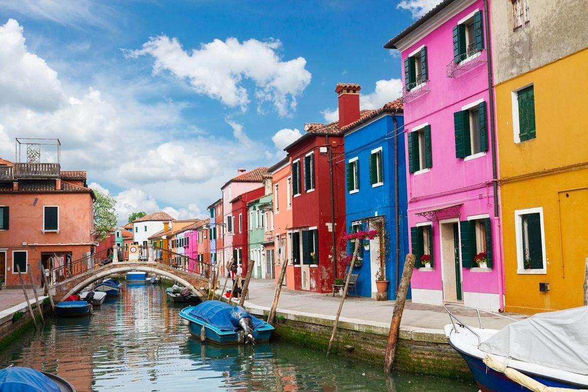 Burano à Venise, Italie