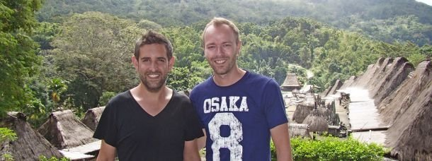 Richard et Franck du blog OneDayOneTravel