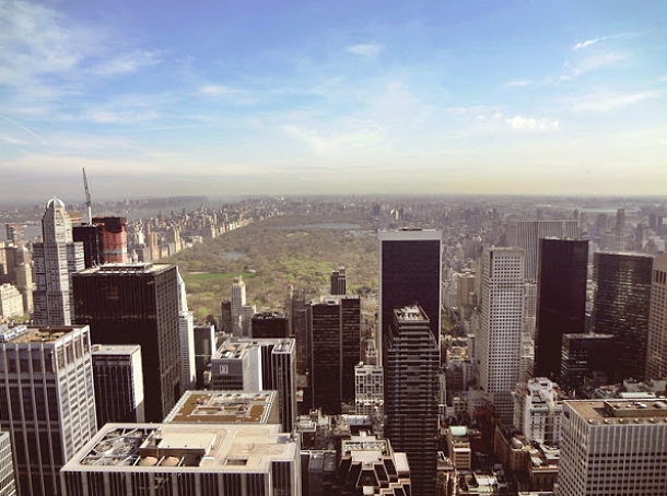 Central park depuis Rockfeller Center ©Pauline Blanchon - The Travel Manifest