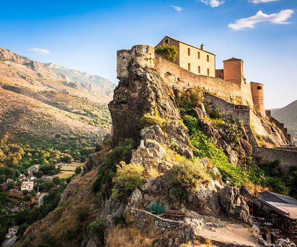 La forteresse de Corte