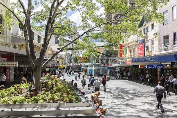 Brisbane street - David Bostock - Shutterstock